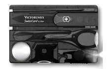 Victorinox SwissCard Lite 13 Funktionen, onyx transparent